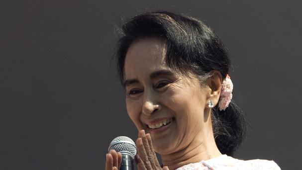 Aung San Suu Kyi has requested meetings with Burma's military chief, the president and the chairman of parliament (AP)
