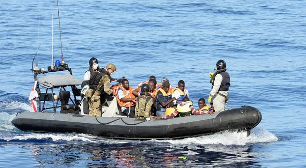 Migrants have travelled across Europe from the Mediterranean to reach Sweden