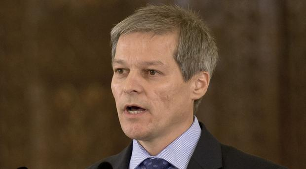 Former EU Agriculture Commissioner Dacian Ciolos has been appointed to form a technocrat government (AP)