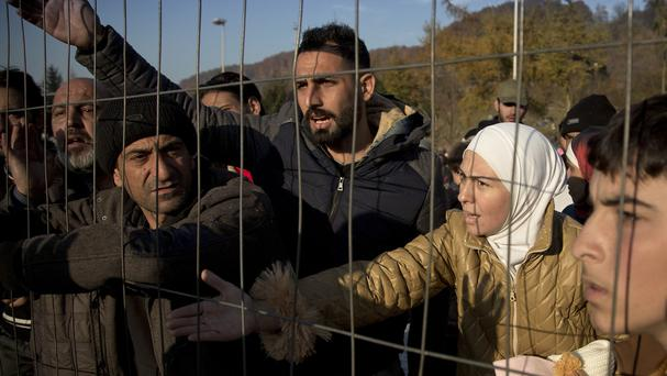 The EU estimates that up to three million more people could arrive in Europe seeking sanctuary or jobs by 2017 (AP)