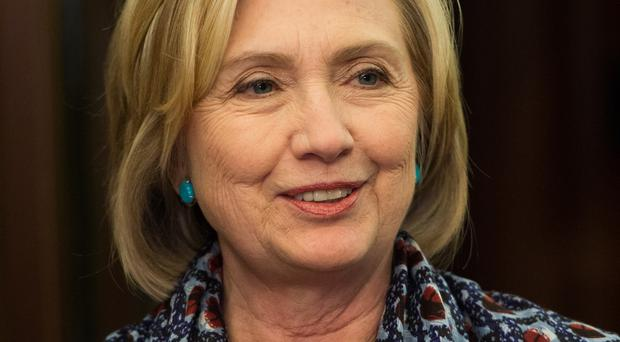 Hillary Clinton was kept up-to-date on the latest developments.