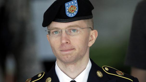 Chelsea Manning, formerly known as Bradley Manning, is serving 35 years for sending classified documents to the WikiLeaks website (AP)