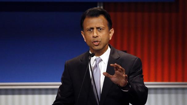 Bobby Jindal is quitting next year's race to be US president (AP)
