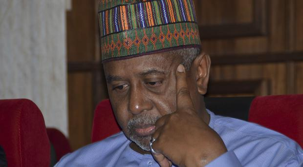 Sambo Dasuki participated in every coup in Nigeria since the 1980s (AP)