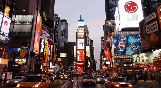 New York's iconic Times Square