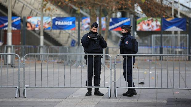 Bilal Hadfi has been identified as one of three attackers at the Stade de France (AP)