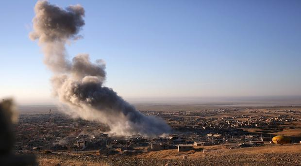 Several allegations of civilian casualties linked to US air strikes in Iraq and Syria are under investigation. (AP)
