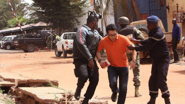 Last week, 20 people were killed in an attack on the Radisson Blu hotel in Mali's capital Bamako (AP)