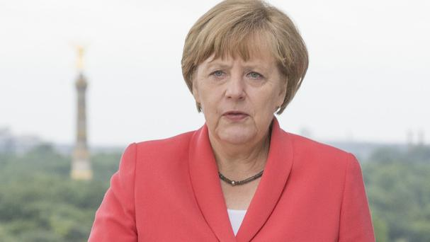 German Chancellor Angela Merkel agreed to honour a request from France to provide support for its Syria operations