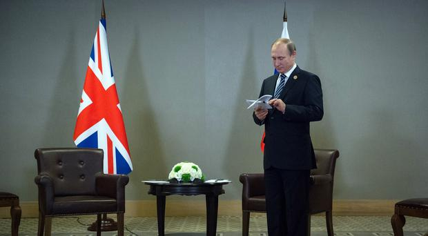 Vladimir Putin called for unity in the fight against terrorism