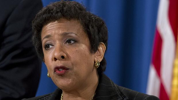 US attorney general Loretta Lynch (AP)