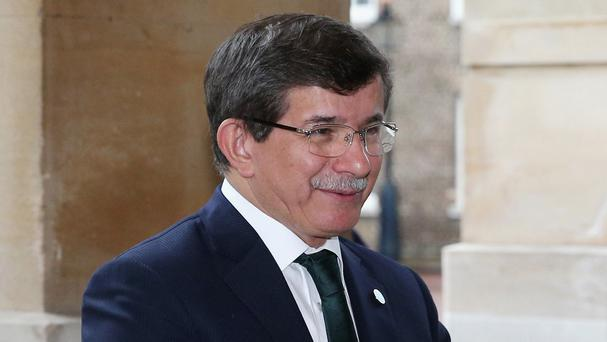 Turkish PM Ahmet Davutoglu again said Turkey would not apologise for 'defending its borders'