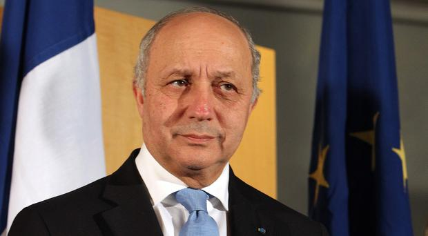 Laurent Fabius said it is