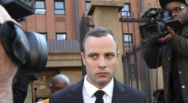 Oscar Pistorius shot his girlfriend Reeva Steenkamp in 2013 (AP)