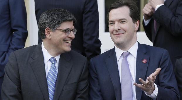 US treasury secretary Jacob Lew, pictured left with Chancellor George Osborne, will chair the UN summit