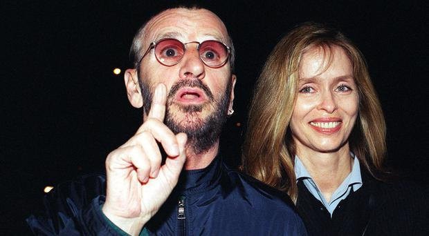 Ex-Beatle Ringo Starr and his wife Barbara Bach