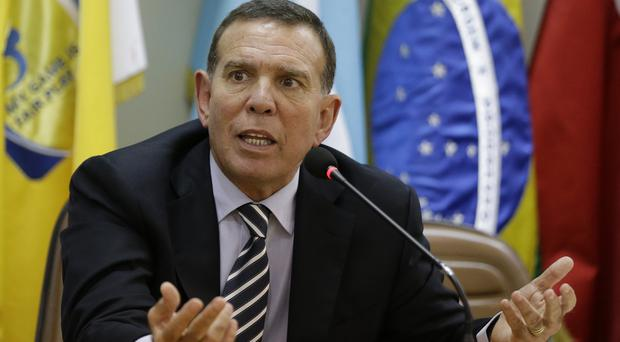 Fifa vice president and Conmebol president Juan Angel Napout is opposing extradition to the US (AP)