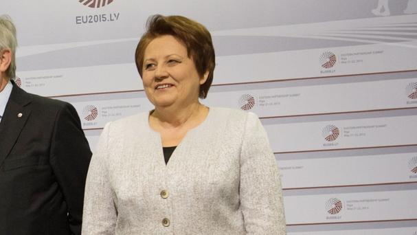 Laimdota Straujuma has resigned as Latvia's Prime Minister, meaning a new government will be formed
