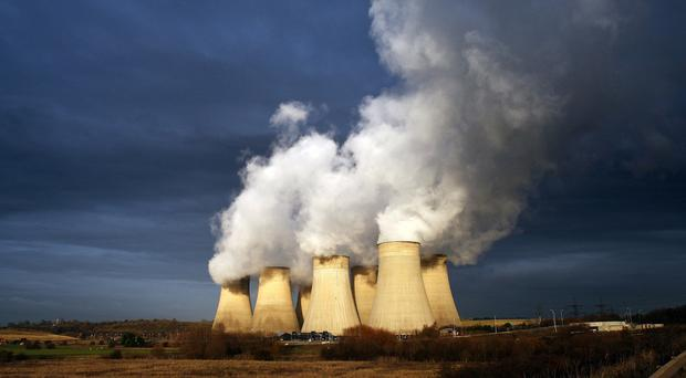 A study suggests global carbon dioxide emissions could be falling slightly