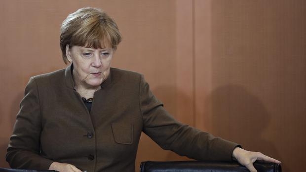 Angela Merkel has been named Time Magazine's Person of the Year. (AP)