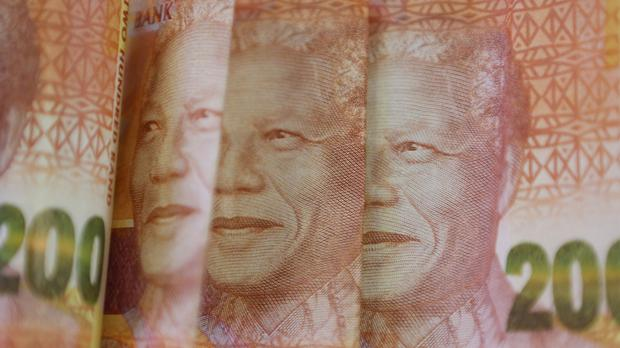 The South African rand has dropped to an all-time low. (AP)