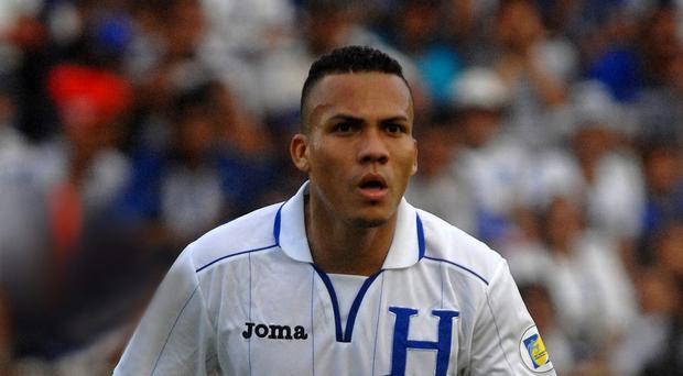 Arnold Peralta was killed in his hometown of La Ceiba, Honduras (AP)