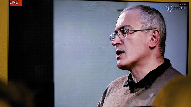 The accusations against Mikhail Khodorkovsky come two days after he hit out at Vladimir Putin