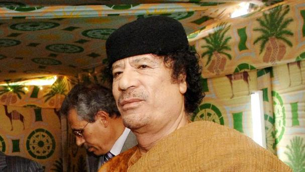 Muammar Gaddafi's son was kidnapped for a short time in Lebanon