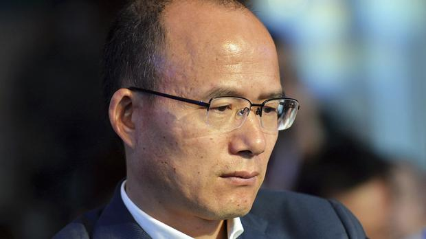 Guo Guangchang went missing for a day last week (AP)