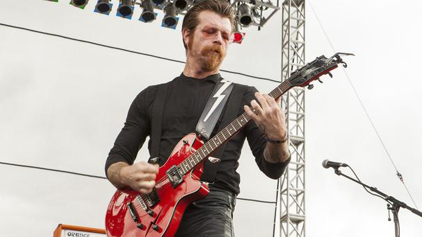 Jesse Hughes said not returning to finish the band's set was never an option (Barry Brecheisen/Invision/AP)