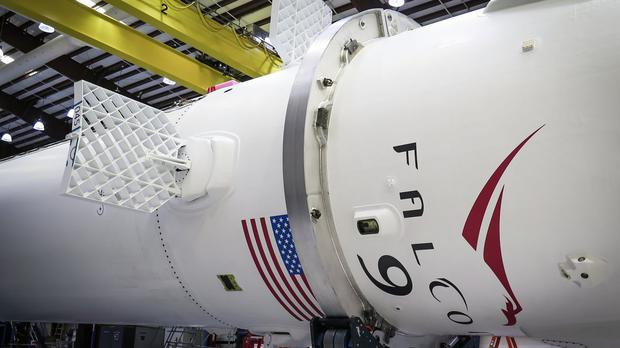 A SpaceX Falcon 9 rocket (SpaceX/PA)