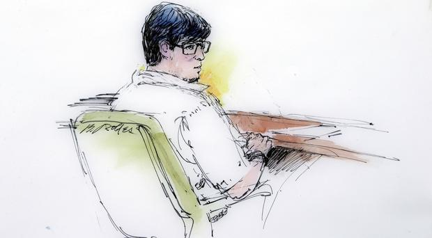 Enrique Marquez is charged with conspiring to provide material support to terrorists for abandoned plots in 2011 and 2012 (AP/Bill Robles)