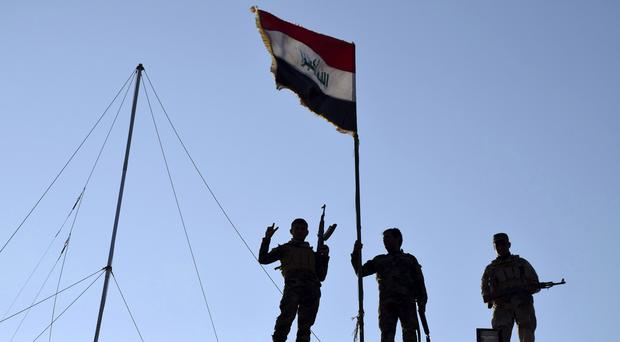 The bombings came a day after Iraqi forces hailed progress in their battle to retake Ramadi from Islamic State (AP)