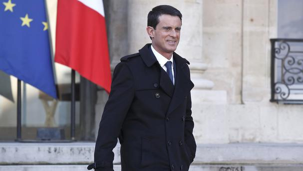 French Prime Minister Manuel Valls has vowed to revoke the citizenship of dual-national terrorism convicts (AP)