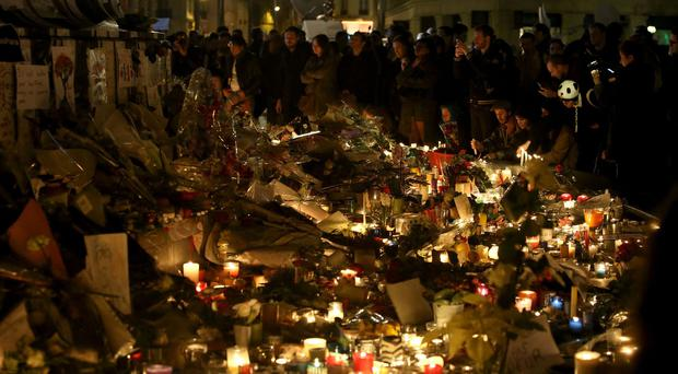 The Paris attacks left 130 people dead and hundreds more wounded.