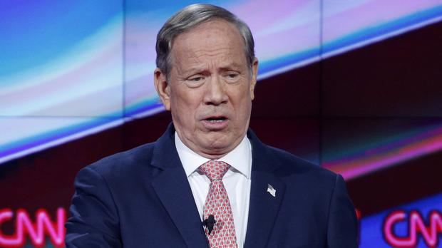 Republican George Pataki has ended his White House bid (AP)
