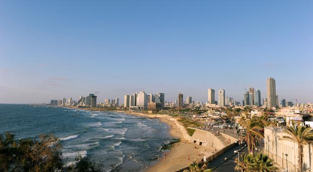 The shooting took place in a bar in Tel Aviv