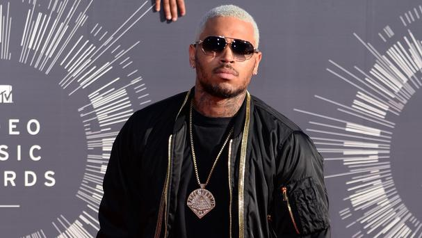 A woman has accused Chris Brown of attacking her at a Las Vegas hotel
