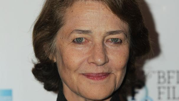 Charlotte Rampling was named best actress for the marital drama 45 Years