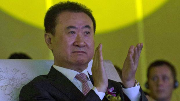 Wanda chairman Wang Jianlin is buying Hollywood film company Legendary Entertainment (AP)