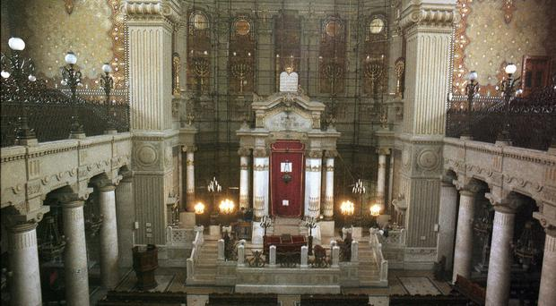 The Pope will visit the Great Synagogue of Rome (AP)