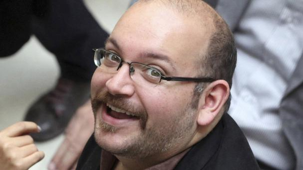 Jason Rezaian, an Iranian-American correspondent for the Washington Post, is believed to have been released (AP)