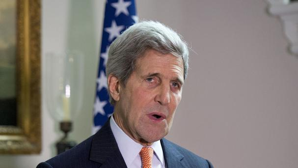 John Kerry ordered nuclear-related sanctions against Iran to be lifted