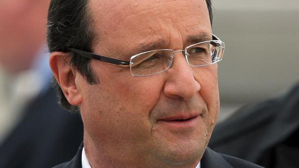 Francois Hollande has declared