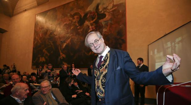 James Bradburne is the new director of Milan's Brera Art Gallery (AP)