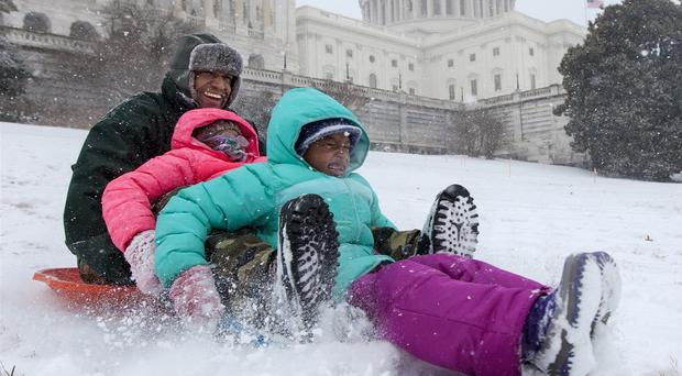 Sledging is being permitted on Capitol Hill (AP)
