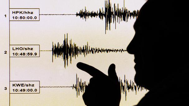 An earthquake struck near the Spanish enclave of Melilla