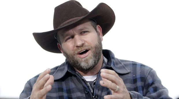 Ammon Bundy, the leader of the armed Oregon group, has been arrested (AP)