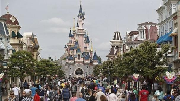 Disneyland Paris is Europe's most-visited amusement park (AP)
