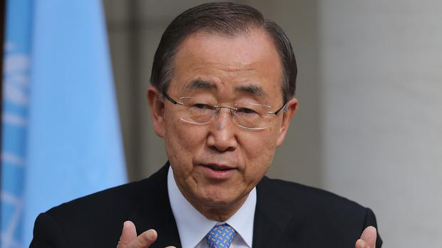 UN secretary general Ban Ki-moon has attacked 'unsustainable' criticism of his remarks about Israel's settlements policy